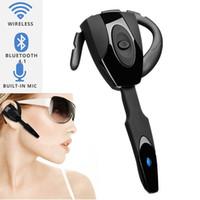neuer mikrofonhaken großhandel-Neues Geschenk 2018 Bluetooth 4.1 drahtlose Kopfhörer-Kopfhörer-Kopfhörer Mini Handfree Ohr-Haken-Kopfhörer mit Mikrofon