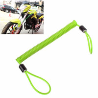Wholesale motorcycle helmets covers for sale - Group buy 1PC M Safe Cover Helmet Motorcycle Disc Lock Cable Anti theft Protective spring Reminder Rope Flexible Creative travel Wire R