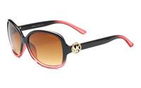 grandes quadros vintage venda por atacado-2018 Moda 8016 Óculos De Sol Das Mulheres Designer De Marca Do Vintage óculos de Sol Feminino Shades Big Frame Estilo Eyewear