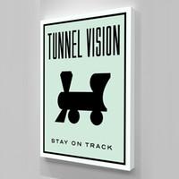 muros de vision al por mayor-Sin marco / Alec Monopoly