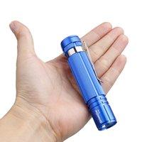 taschenlampen 7w großhandel-SKYWOLFEYE 7W Mini Q5 LED wasserdichte Taschenlampe Licht Lampe Leistung 14500 / AA LEF_70T