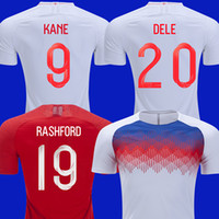 England Camisas de futebol da copa do mundo de 2018 KANE camisa de futebol  nacional WALKER INGLATERRA ABRAHAM RASHFORD Camiseta VARDY DELE STERLING  maillot 9d29aaa9ba431