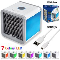 Wholesale Air Cooler Arctic Air Personal Space Cooler USB in led lights Portable Conditioner Cool Any Space Air Conditioner Device Home Office