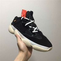 Wholesale black moon boots - 2018 Discount Color Desert Rat 500 Super Moon Kanye Sneakers 500 Mens Running Shoes Sport Boots Shoe Man Sports Boot Men Sport Shoes