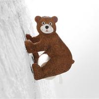 porte-serviette suspendue achat en gros de-3D porte-papier hygiénique créatif Meow star suspendus porte-serviettes en papier porte-serviettes
