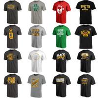 leere grüne t-shirts großhandel-Herren Boston Bruins Shift Tri-Blend Hockey T-Shirt Schwarz Grau Rot Grün Marine Weiß Nein Name Nein Anzahl Leere Trikots Großhandel Schnelles Verschiffen