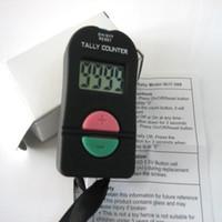 elektronischen zähler großhandel-Hand-elektronisches digitales Tally Counter Clicker Sicherheit Sport Gym School ADD / SUBTRACT MODEL 1200 Stück bis