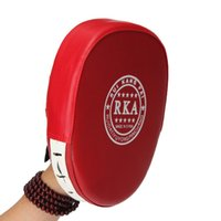 Wholesale punch boxing gloves resale online - 2pcs Fitness Punch Boxing Training Bags Pad Focusing Target Pad Glove MMA Karate Muay Thai Kick Sanda Pads Sport Gloves