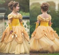 Les Vente Princesse Pour Pas De 2019 Robes Enfants En Chères Gros rwOqr8