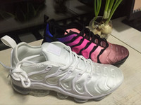 Wholesale Max Tn Sports Shoes - New TN VaporMax Running Shoes VM Weaving racer Ourdoor Athletic Sporting Walking Sneakers for Women Men Fashion pink Casual maxes Size 36-45