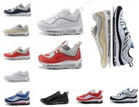 Wholesale sports indoors - 2018 shoes 98 Gundam Running Shoes For Men High Quality Multi Color Indoor & Outdoor High Quality Sports Shoes