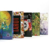 Wholesale International English - 7 style tarot cards English version best quality board game playing cards for party family cards game