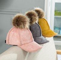 baby sport garn großhandel-Art und Weise heißes Kunstleder neue Ankunftssportbaby-Winterhüte für Jungen- und Mädchengröße 3M-5T Baumwollgarn warme Art und Weise freie Art