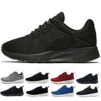 Wholesale black olympics - Classic Run Shoes tanjun Black white Men Womens Running shoes London Olympic Runs outdoor mens sports Shoe trainer run Sneakers size 36-45