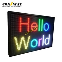 Wholesale Electronic Advertising - Free shipping and CE approved electronic led advertising display sign with RGB and size 1040*720mm