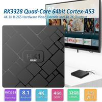 Wholesale bits pieces online - 1 Piece HK1 Max Android TV Box GB GB RK3328 Quad Core Bit Smart Media Player Support G Wifi Better MX10 H96 Max Pro Plus