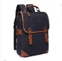 Wholesale Ladies Laptop Tote Bags - brand handbags backpacks canvas bag men woman totes ladies shoulder bags casual outdoor travel korean laptop bags backpack Traveling Bags