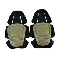 Wholesale paintball padded - Ourpgone Outdoor Adult 'S Tactical Protective Knee Pad Support Airsoft Paintball Combat Knee Protector Kneepads +Free Shipping !