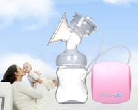 göğüs emme pompaları toptan satış-MissBaby Akıllı Otomatik Elektrikli Göğüs Pompaları Meme Emme Süt Pompası Emzirme USB Elektrik göğüs pompası Ayarlanabilir