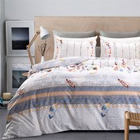 Wholesale indian bedding for sale - Group buy Indian Style White Bedding Set Queen Colored Feather Pattern Duvet Cover Sets King Twin Size Soft and Comfortable Home Beddings