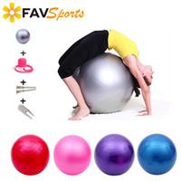 Wholesale pilates exercise balls resale online - Sports Yoga Ball Larger Exercises Yoga Pilates Fitness Gym Fitball Exercise Workout Ball H Shape Gym Push Up Rack