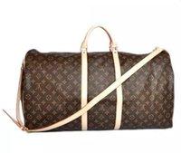 768ac1868 de gama alta hombres de lujo bolso de viaje de las mujeres bolsos de lona  del bolso de la marca de fábrica de cuero bolsos del equipaje de la marca  de gran ...