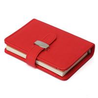 современный ноутбук оптовых-Современный дизайн Личный органайзер Планировщик Кожаный чехол для ноутбука