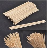 palos de caña al por mayor-100 unids Premium Rattan Reed Fragancia Difusor Reemplazo Repuesto Sticks Incienso 3mm 3.5mm