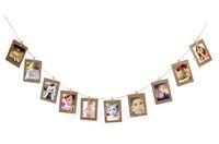 neue gute fotos großhandel-10 Stücke Papier Bilderrahmen Dekorationen Erinnerung an Gute Erinnerungen Dekorieren Hochzeit Liefert Neujahr DIY Weihnachtsdekoration