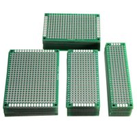 Wholesale Prototype Pcb Board - 40pcs FR-4 2.54mm Double Side Prototype PCB Printed Circuit Board