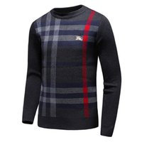 Wholesale cashmere crew neck - soft wool sweater for men Pure cashmere sweater round neck size M-3XL