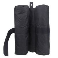 Wholesale pop up tents for sale - Group buy Portable Outdoor Camping Tent Fixed Sandbags Leg Weights Fixing Bag for Pop up Canopy Tent Feet Practical Sand Bag Black