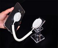 carrinho de exposição de varejo de telefone móvel venda por atacado-100 pçs / lote Acrílico Suporte de Exposição Suporte de Exibição de Telefone Celular Anti-roubo Rack Móvel para Exposição de Segurança Loja