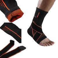 Wholesale adjustable ankle support for sale - Group buy Ankle Support Sport Anti slip Ankle Brace Protector Adjustable Elastic Brace Guard Support Football Basketball Running G443S