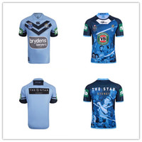 Wholesale wales rugby jersey - 17 18 19 quality NSW Origin Jersey 2018 Classic New South Wales Blues State of Origin Rugby Jersey New South Wales Blues