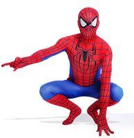 neue kostüme für männer großhandel-New Spiderman Kostüm 3D Gedruckt Kinder Erwachsene Lycra Spandex Spider-man Kostüm Für Halloween Maskottchen