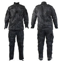 ingrosso bdu uniforme dell'esercito-Top Quality Camouflage US Army Uniform Suit CP ACU Digital Camo Combat Tactical Camouflage Uniforme Tipo BDU