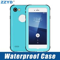 Wholesale redpepper iphone cases online – custom ZZYD Redpepper Waterproof Case Shockproof Protective Shockproof Phone Case Diving Swimming For iP X Samsung S8 S9