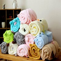 Wholesale car quilts for sale - The Explosion Cartoon Coralline Blanket Baby Soothing Towel Siesta Lovely Animal Blankets Car Roll Blanket For Children mz W