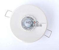 menschlicher pir schalter groihandel-Geagood Menschlicher Körper Sensor-Schalter 220V Infrarot-Sensor-Schalter weiße runde Sensor-Schalter PIR Embedded Decke Typ 3-Draht-System