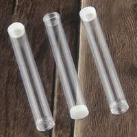 aa embalagem da bateria venda por atacado-CE3 Vape Pen Kit Embalagem Cartuchos Da Pena do Vaporizador Recipiente De Embalagem De Plástico Limpar o tubo para o cigarro .3 .4 .5 .6 Cartucho de 1 ml