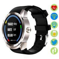 цифровой водонепроницаемый плеер оптовых-ZUCOOR Smart Watch Wrist GPS Relojes RW61 Mp3 Player Relogios Waterproof Digital Fitness Smartwatch Reloj Inteligente Pedometer
