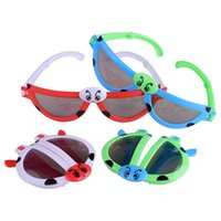 Wholesale kids cartoon sunglasses online - Fashion Cartoon Animal Modeling Kids Sunglasses Fold Deformed Colorful Glasses Boys And Girls Small Toy Hot Sale lh ff