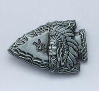 Wholesale Native American Indians - Native American Indian Belt Buckle SW-BY747 suitable for 4cm wideth snap on belt with continous stock