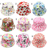 Wholesale Free Sewing Pattern - new Kids Bucket Hat Sewing Pattern Baby Infant Toddler Child, Boy, Girl Hat Sewing Pattern Cotton sunhat
