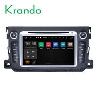 ingrosso benz smart fortwo-Krando Android 7.1 auto dvd radio per benz smart fortwo 2010 2011 2012 2013 2014 auto multimedia android dvd sistema di navigazione gps