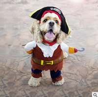 Wholesale funny costumes for females resale online - Funny Dog Cat Halloween Xmas Cosplay Costumes Boxer Doctor Nurse Cosplay Suit Pet Clothing Christmas Birthday Party Clothes For Dog Cat