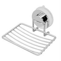 ingrosso portaoggetti a ventosa-Dispenser di sapone liquido per bagno Accessori in acciaio inox a parete con forte ventosa Ventosa Portasapone Mensola da bagno