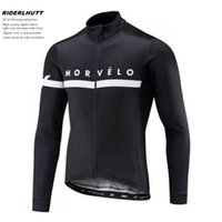 Wholesale New morvelo Winter thermal fleece Cycling Jersey Men Clothing Long Sleeve Jackets Bicicleta MTB Maillot Ropa Ciclismo Hombre Ciclismo