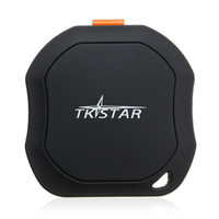 Wholesale car gps online - China kids tracking Suppliers Waterproof Mini GSM GPS Tracker SMS Sender Tracking Transmitter with shock sensor SOS Alarm Car Auto Kids